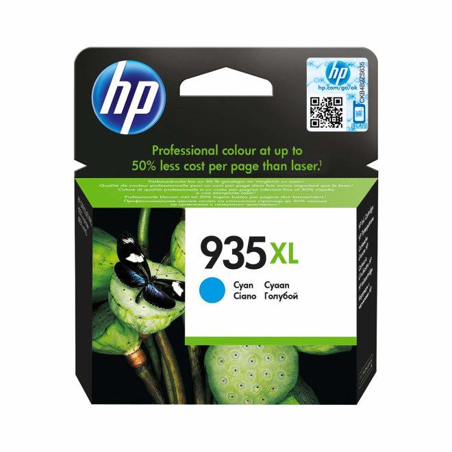 HP 935XL High Yield Cyan Ink Cartridge, cca 825 ispisa, Original [C2P24AE]