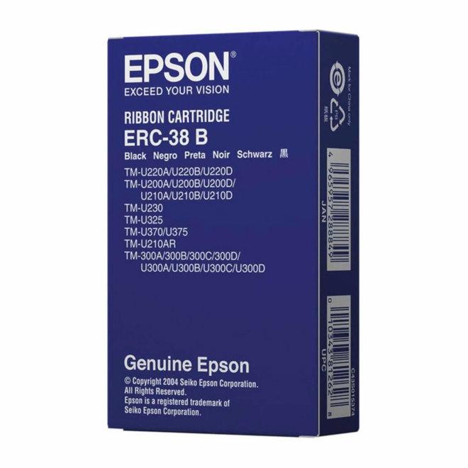 Epson ribon kazeta ERC38B, Black, Original [C43S015374]