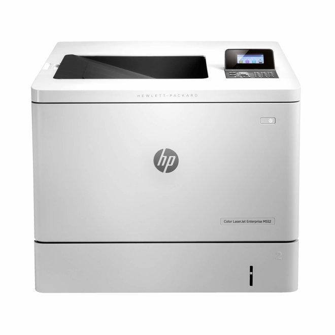 HP Color LaserJet Enterprise M552dn, jednofunkcijski pisač, laserski ispis u boji, A4 format, USB, Ethernet, Dupleks, LCD [B5L23A#B19]