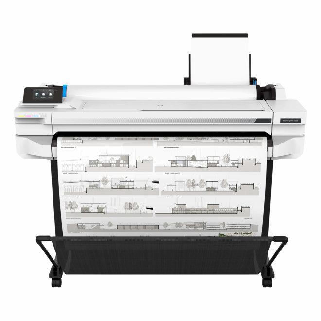"HP DesignJet T525 36-in Printer, tintni ploter u boji, 36"", 4 boje, 35 sek/str A1, 1GB RAM, 2400 x 1200 dpi, WiFi, Mreža, USB [5ZY61A#B19]"