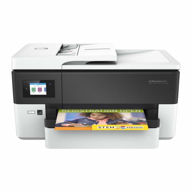HP OfficeJet 7720 Wide Format All-in-One Printer, višefunkcijski pisač, tintni ispis u boji, A3, WiFi, Ethernet, USB, ADF, Duplex, 60 – 105 g/m² [Y0S18A#A80]