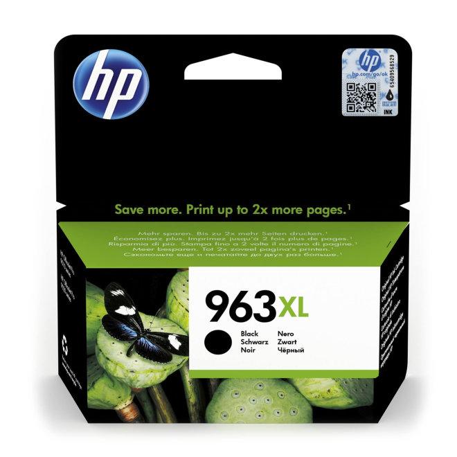 HP 963XL High Yield Black Original Ink Cartridge [3JA30AE#BGY]