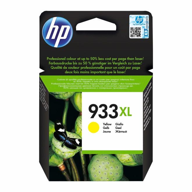 HP 933XL High Yield Yellow Original Ink Cartridge [CN056AE]