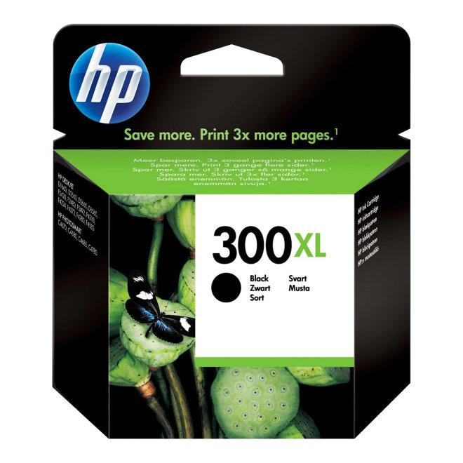 HP 300XL High Yield Black Original Ink Cartridge [CC641EE#UUS]