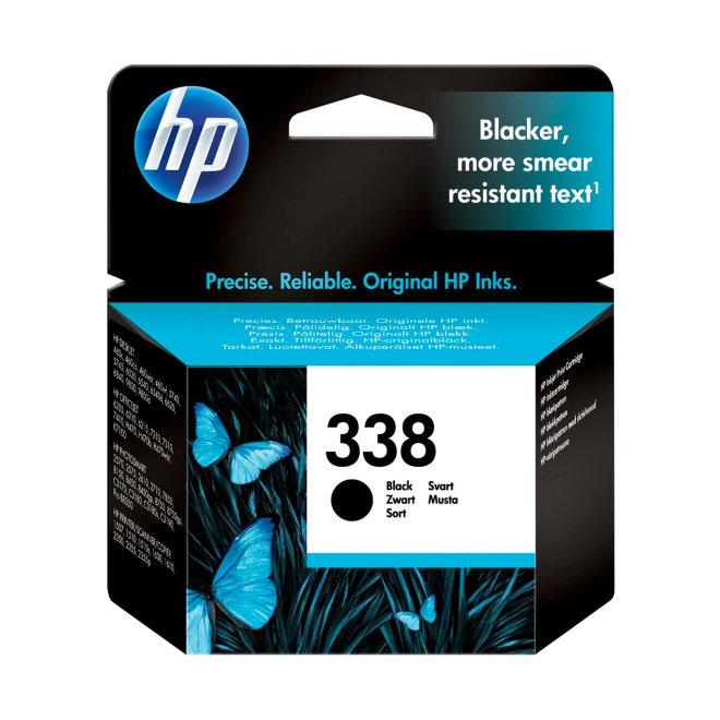 HP 338 Black Ink Cartridge, tinta, cca 480 ispisa, Original [C8765EE#BA3]