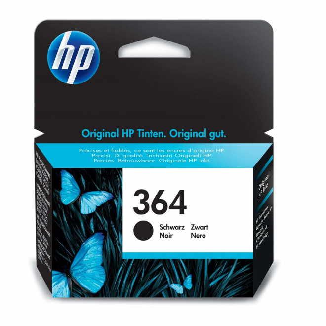 HP 364 Black Original Ink Cartridge [CB316EE#ABB]