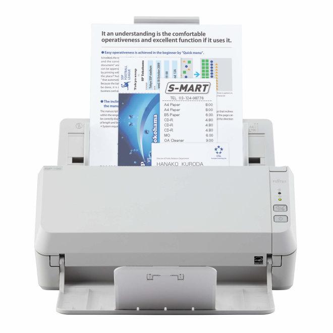 Fujitsu SP-1120, ADF, Colour CIS x 2, 50 - 209 g/m2, 600dpi, USB 2.0, 2.5kg [PA03708-B001]