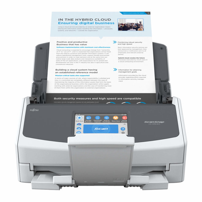 Fujitsu ScanSnap iX1500, skener, A3, dupleks, ADF, Touchscreen, WiFi, USB 3.1, LED [PA03770-B005]