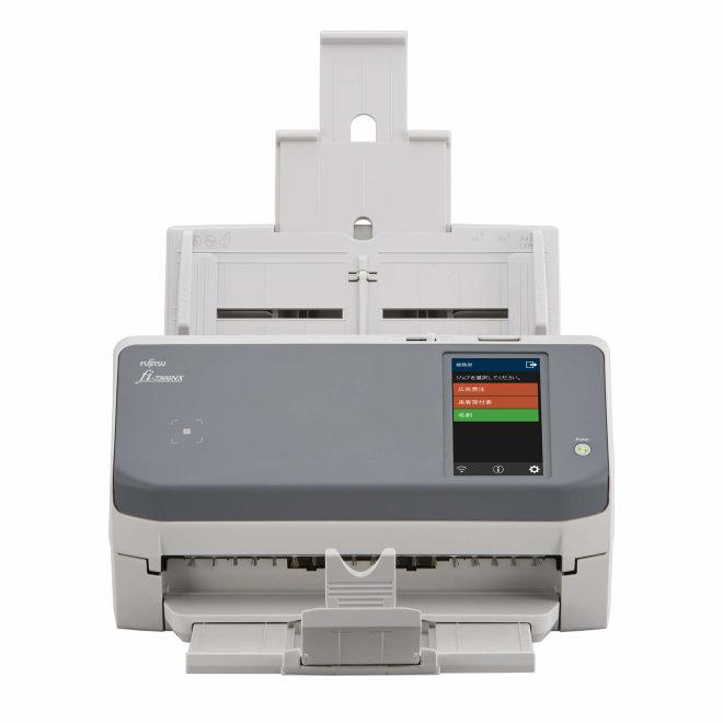 Fujitsu fi-7300NX, skener, ADF, dupleks, 600 dpi, USB 3.1, LAN [PA03768-B005]