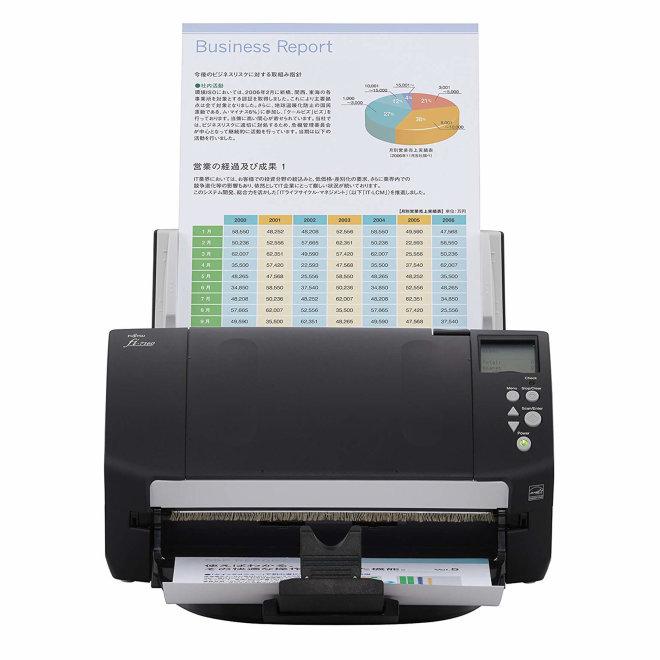 Fujitsu fi-7160, skener, 600 dpi, 60 ppm / 120 ipm, A4, LCD, USB 3.0 [PA03670-B051]
