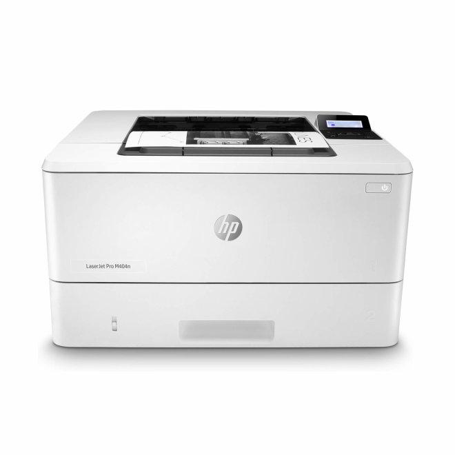 HP LaserJet Pro M404n Printer, jednofunkcijski, laserski crno-bijeli ispis, A4 format, USB, mreža [W1A52A#B19]