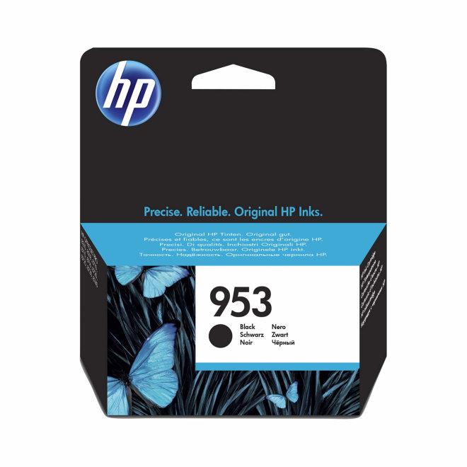 HP 953 Black Ink Cartridge, cca 1.000 ispisa, Original [L0S58AE]