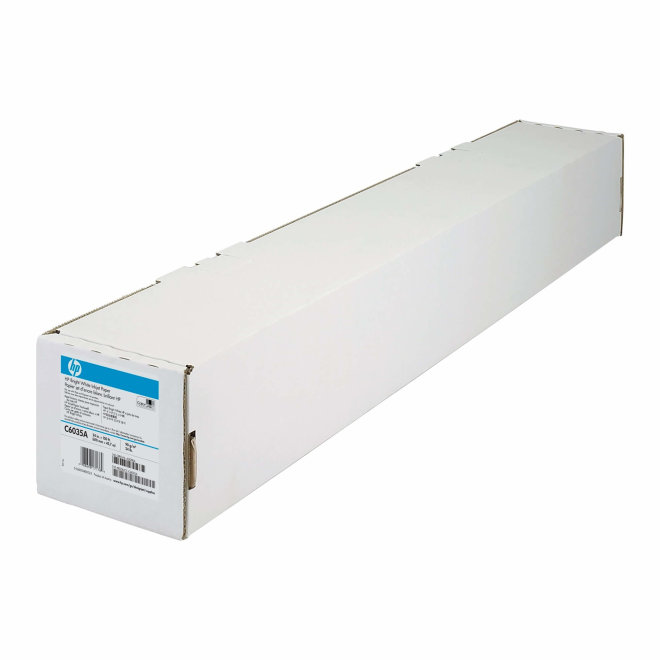 HP Bright White Inkjet Paper 610 mm x 45.7 m, rola, Original [C6035A]
