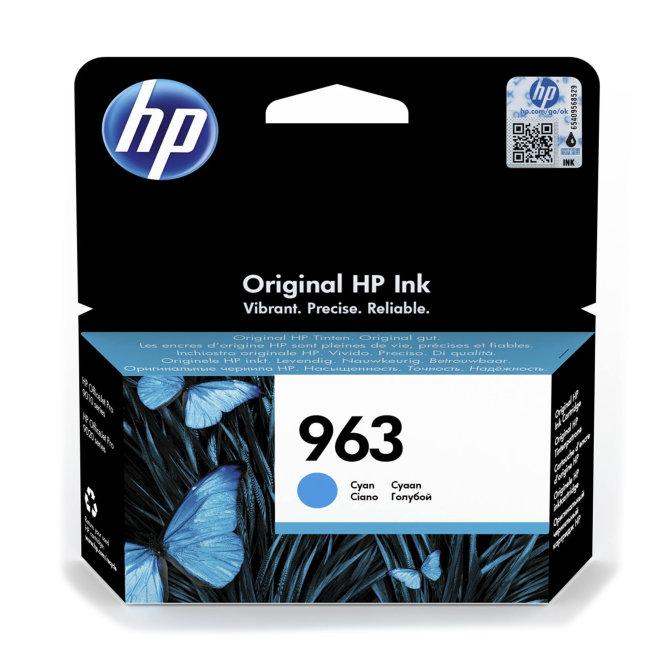HP 963 Cyan Original Ink Cartridge [3JA23AE#BGX]
