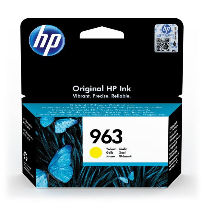 HP 963 Yellow Original Ink Cartridge [3JA25AE#BGX]