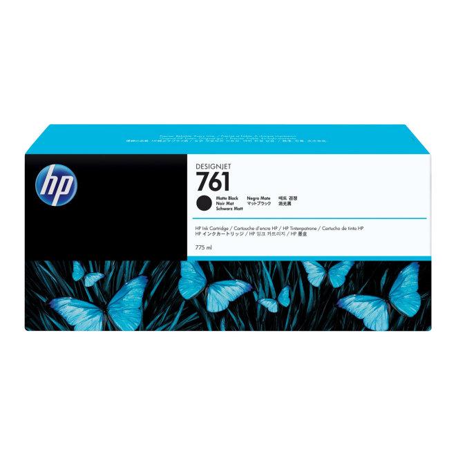 HP 761 775-ml Matte Black DesignJet Original Ink Cartridge [CM997A]
