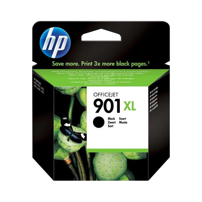 HP 901XL High Yield Black Ink Cartridge, cca 700 ispisa, Original [CC654AE#UUQ]