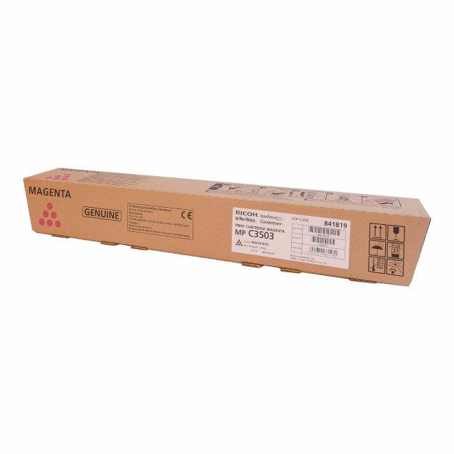 Ricoh/Nashuatec MP C3003 / MP C3503 / MP C3004 / MP C3504, Magenta, toner, cca 18.000 ispisa, Original [841819]