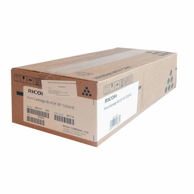 Ricoh/Nashuatec SP C252 / SP C262, Black, toner, cca 6.500 ispisa, Original [407716]