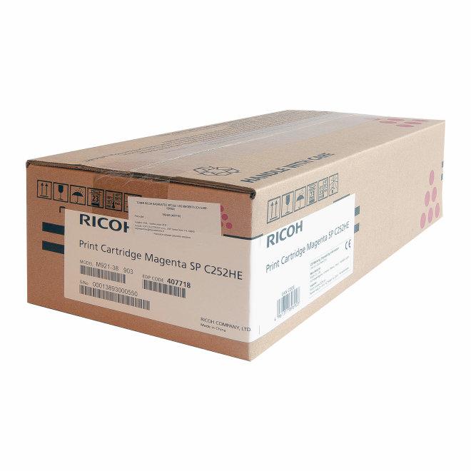 Ricoh/Nashuatec SP C252 / SP C262, Magenta, toner, cca 6.000 ispisa, Original [407718]