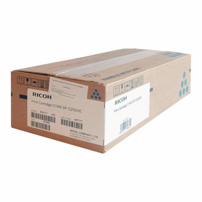 Ricoh/Nashuatec SP C252 / SP C262, Cyan, toner, cca 6.000 ispisa, Original [407717]