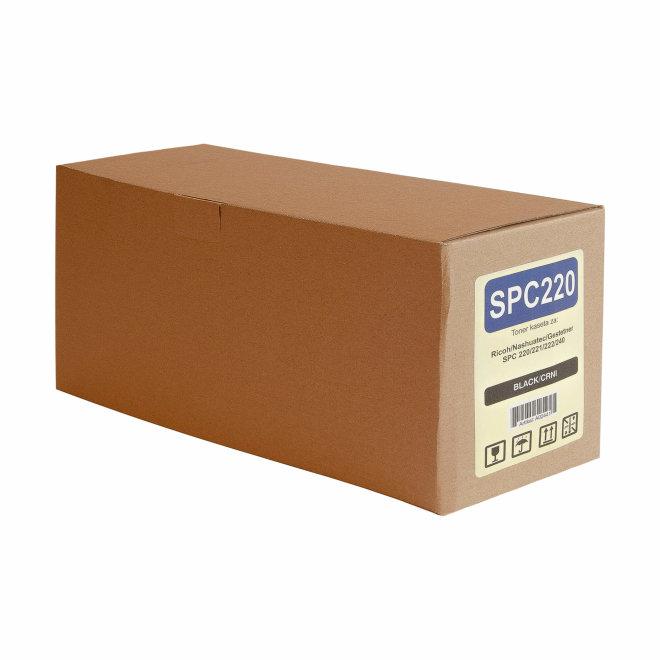 Ricoh/Nashuatec SP C220 / SP C221 / SP C222 / SP C240, Black, toner, cca 2.000 ispisa, Zamjenski [A02441]