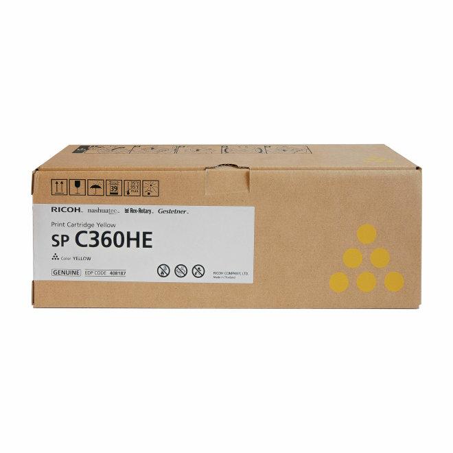Ricoh/Nashuatec SP C360 / SP C361, Yellow, toner, cca 3.000 ispisa, Original [408187]