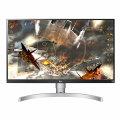 "LG 27UL650-W, LED monitor, 27"", 3840 x 2160 4K @ 60 Hz, IPS, 350 cd/m², 1000:1, DisplayHDR 400, 5 ms, 2 x HDMI, DisplayPort, White (back), Black front [27UL650-W]"