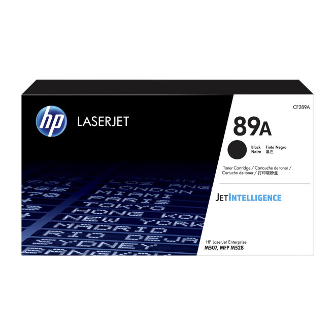 HP 89A Black Original LaserJet Toner Cartridge [CF289A]
