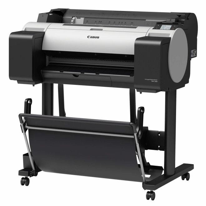 """Canon imagePROGRAF TM-200, ploter, tintni ispis u boji, 5 boja, format 24"""", WiFi, USB, Ethernet, 2400x1200 dpi, 2GB RAM, bez postolja [3062C003AA]"""