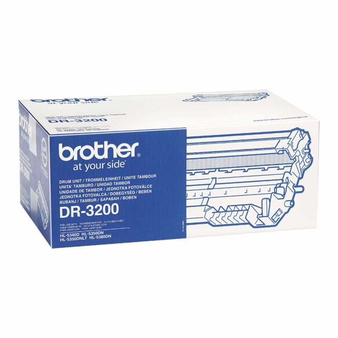 Brother bubanj DR-3200, Black, cca 25.000 stranica, Original [DR3200]