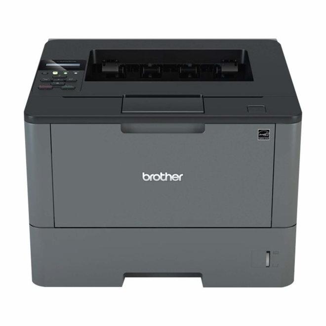 Brother HL-L5200DW, jednofunkcijski pisač, laserski ispis c/b, A4, WiFi, USB, Ethernet, Dupleks, 60 – 200 g/m² [HLL5200DWYJ1]