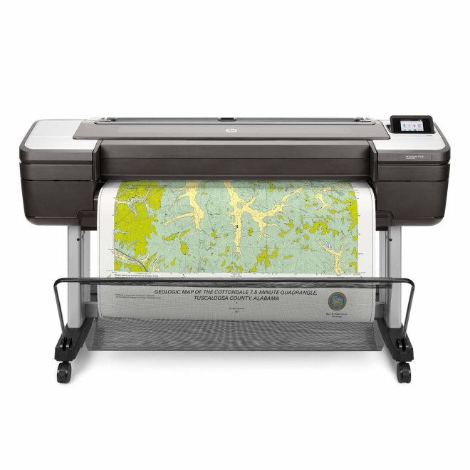 "HP Designjet T1700, 44"" ploter, tintni ispis u boji, 6 boja, CAD, GIS, WiFi, USB, Ethernet, 2,400 x 1,200 dpi [W6B55A#B19]"