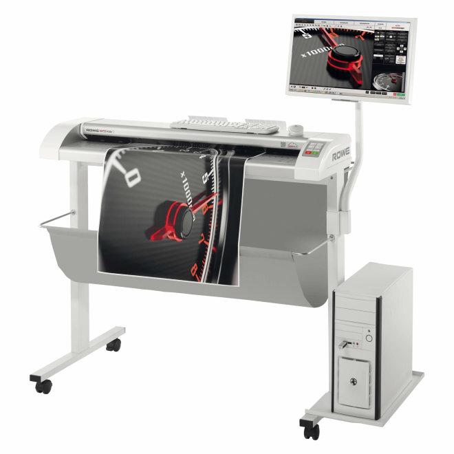 """ROWE Scan 450i, širokoformatni skener 24"""", 36"""" i 44"""", jedinstvena i patentirana tehnologija, Made in Germany [ROWE450i]"""