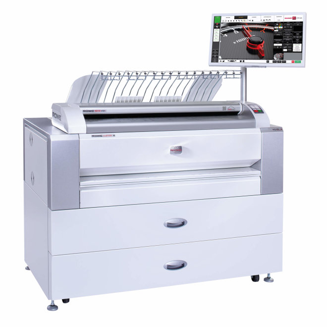 ROWE ecoPrint MFP, i4, i6, i8/i8L, i10/i10L, modularni višefunkcijski pisač širokog formata, pisač + skener + kopirka, jedinstvena i patentirana tehnologija, Made in Germany [ROWEecomfp]