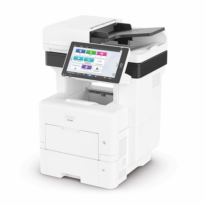 Nashuatec IM 550F, višefunkcijski pisač, laserski crno-bijeli ispis, A4 format, WiFi, Ethernet, Dupleks, ADF, Touchscreen [418459]