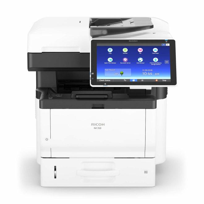 Nashuatec IM 350F, višefunkcijski pisač, laserski crno-bijeli ispis, A4, USB, Ethernet, Dupleks, ADF, Touchscreen [418133]