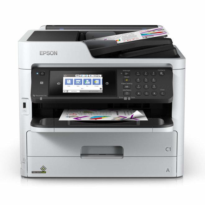 Epson WorkForce Pro WF-C5790DWF, višefunkcijski pisač, tintni ispis u boji, A4, WiFi, USB, Ethernet, Dupleks, ADF, Touchscreen [C11CG02401]