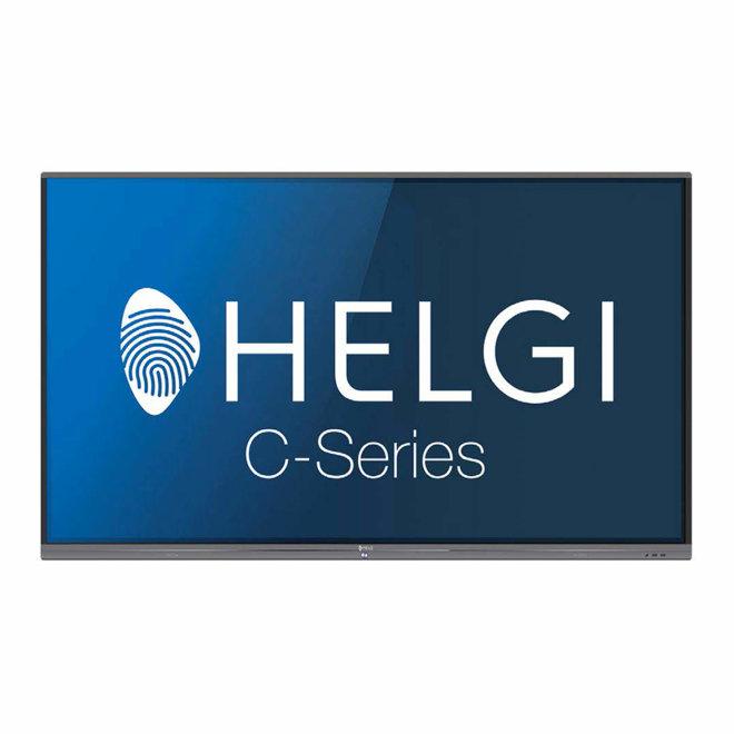 """Helgi TDC65, interaktivni ekran, 65"""" 4K / UHD, Android, WiFi, HDMI, USB, VGA in, 3GB RAM, 16GB ROM, 20 točaka dodira, 10 točaka pisanja, Black, 40,2 kg [TDC65]"""
