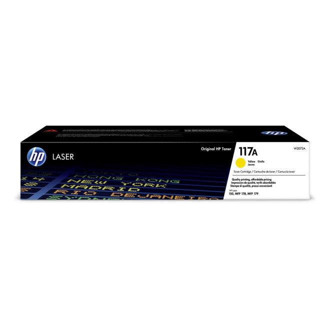 HP 117A Yellow Original Laser Toner Cartridge [W2072A]