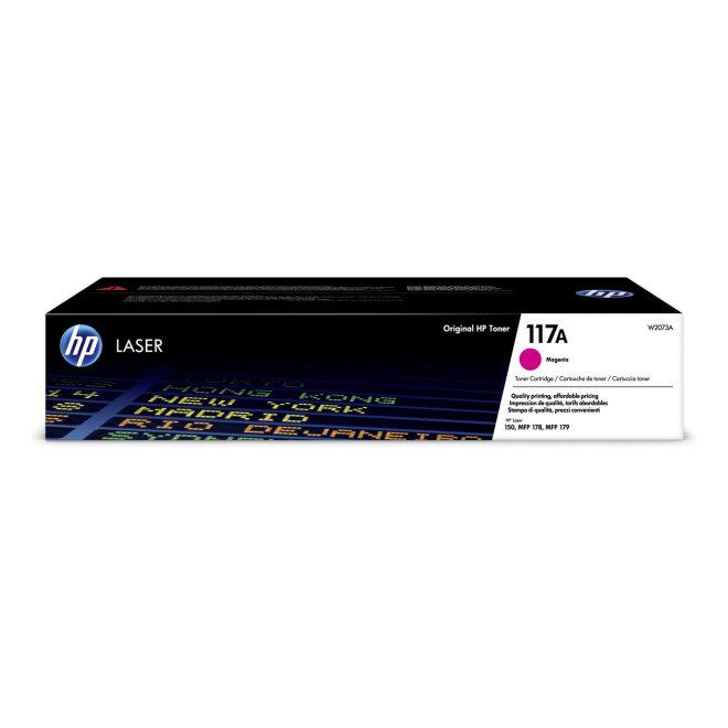 HP 117A Magenta Original Laser Toner Cartridge [W2073A]
