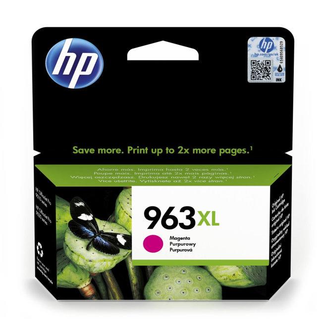 HP 963XL High Yield Magenta Original Ink Cartridge [3JA28AE#BGY]