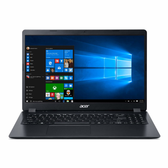 "Acer Aspire 3, Intel Core i3, 15.6"" Full HD, 4GB RAM, 256GB SSD, Intel HD Graphics, Windows 10 Home, Black, 1,9 kg [NX.HEFEX.00C]"