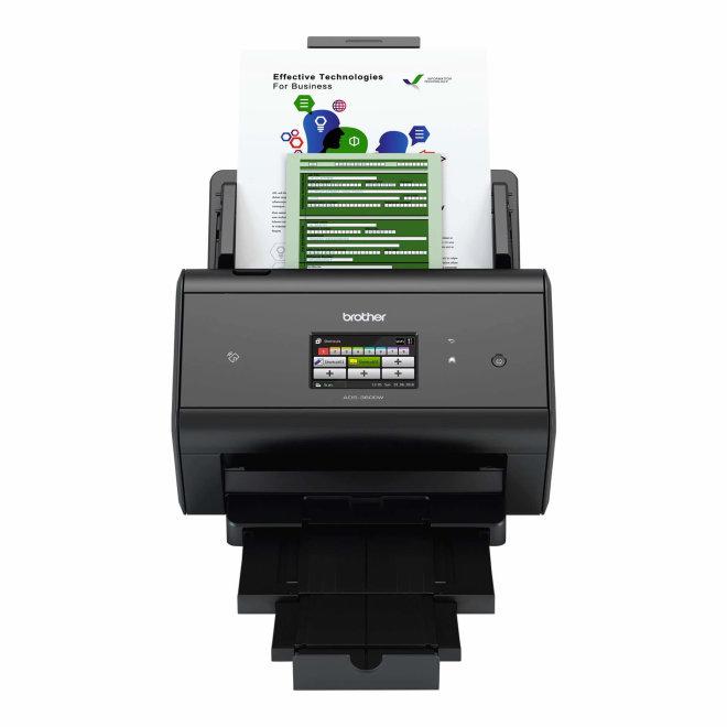 Brother ADS-3600W, skener, WiFi, NFC, USB, Ethernet, ADF 50 listova, Touchscreen, besplatan vrhunski softver [ADS3600WYJ1]