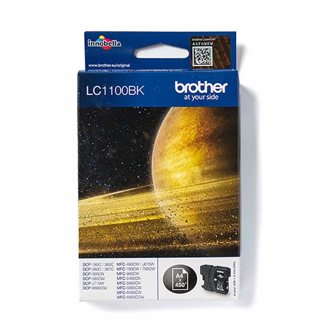 Brother tinta LC1100BK, Black, cca 450 stranica, Original [LC1100BK]