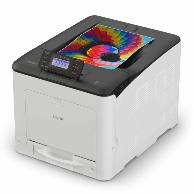 Ricoh SP C360DNw, jednofunkcijski laserski pisač u boji, A4 format, WiFi, Ethernet, Dupleks [408167]