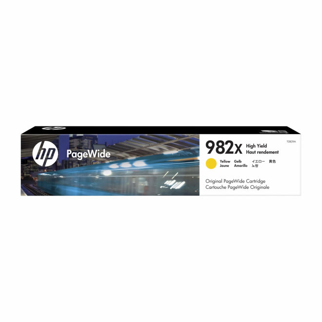 HP 982X High Yield Yellow Original PageWide Cartridge [T0B29A]