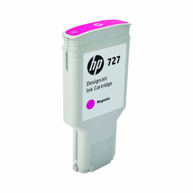 HP 727 300-ml Magenta DesignJet Original Ink Cartridge [F9J77A]