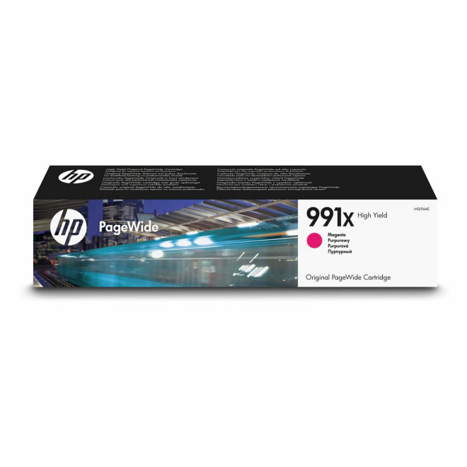 HP 991X High Yield Magenta Original PageWide Cartridge [M0J94AE]