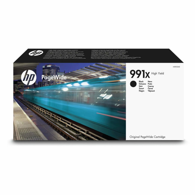 HP 991X High Yield Black Original PageWide Cartridge [M0K02AE]